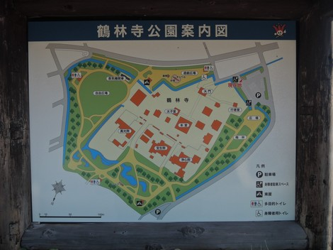 刀田山 鶴林寺 地図