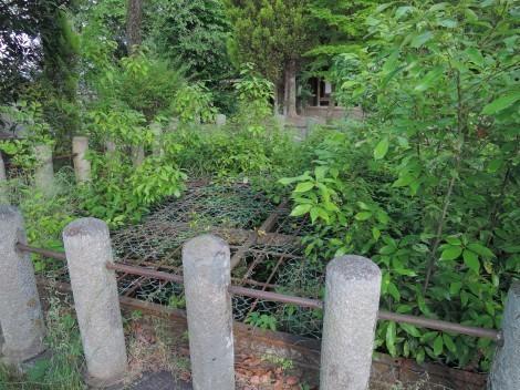 上の丸公園の三木城跡 かんかん井戸