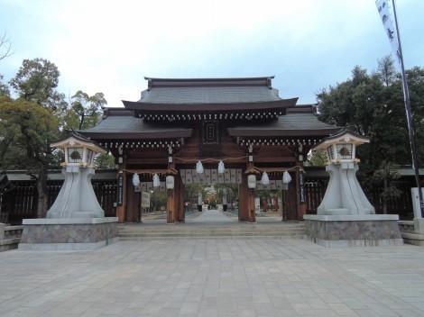 湊川神社 表門