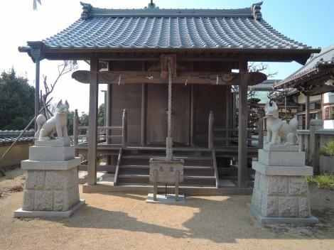 柿本神社 五社稲荷神社