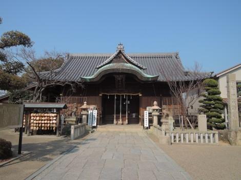 柿本神社 拝殿