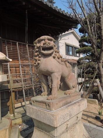 柿本神社 狛犬