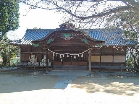 賀茂神社 拝殿 [兵庫県たつの市]