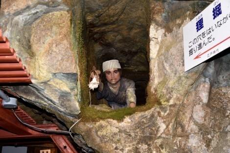 生野銀山 江戸時代採掘ゾーン
