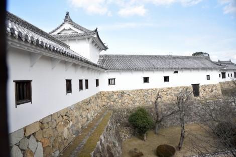姫路城 西の丸長局 (百間廊下)