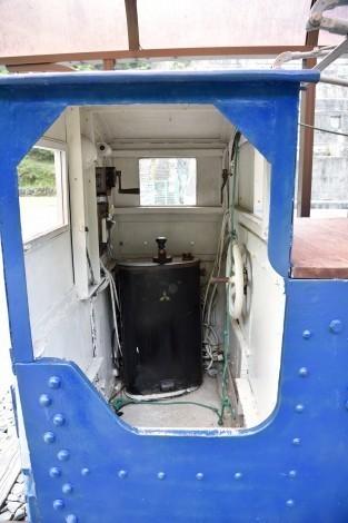 神子畑選鉱場跡 一円電車