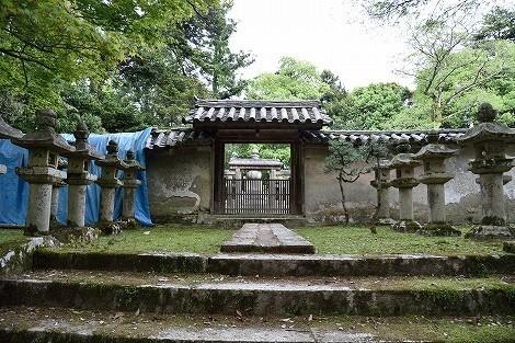 圓教寺 松平直基の墓所