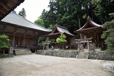 圓教寺(円教寺) 護法堂(乙天社と若天社)