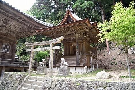 圓教寺(円教寺) 護法堂