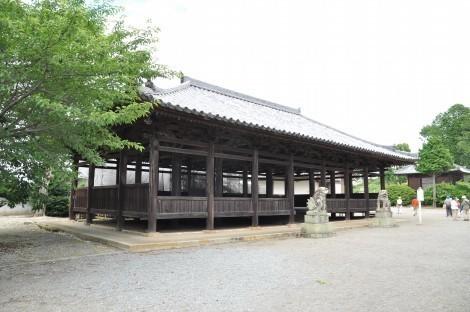小野市 浄土寺 八幡神社拝殿