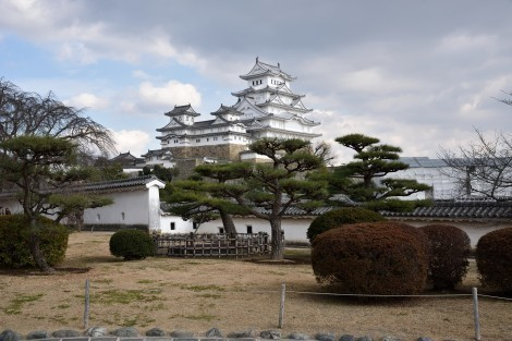 姫路城 西の丸より