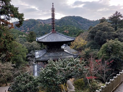 一乗寺の紅葉 兵庫県加西市
