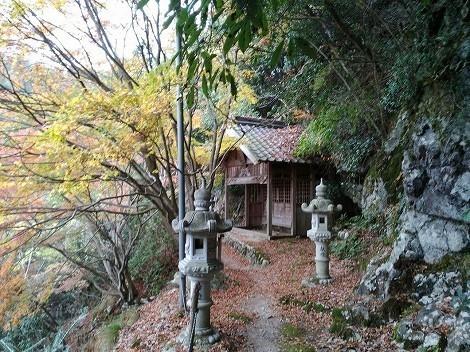石龕寺 奥の院