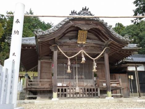 櫨谷神社 拝殿