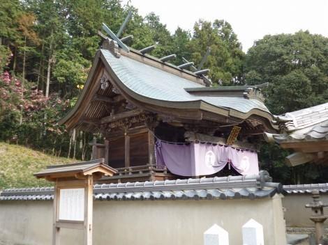 櫨谷神社 本殿