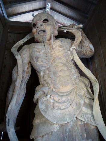 近江山 近江寺  仁王像