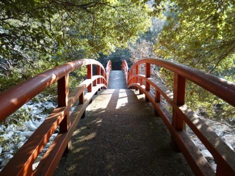 神戸 太山寺 閼伽井橋