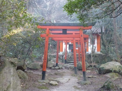 神戸 太山寺 稲荷
