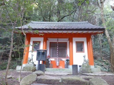神戸 太山寺 稲荷舎