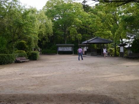 上の丸公園の三木城跡
