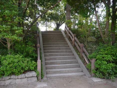 上の丸公園の三木城跡 本丸天守台