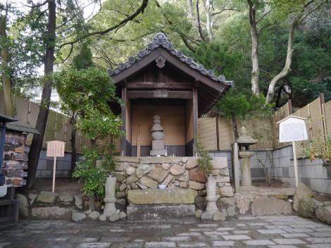須磨寺 敦盛塚