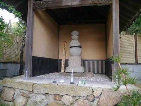須磨寺 敦盛首塚