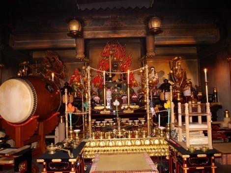 須磨寺 護摩堂