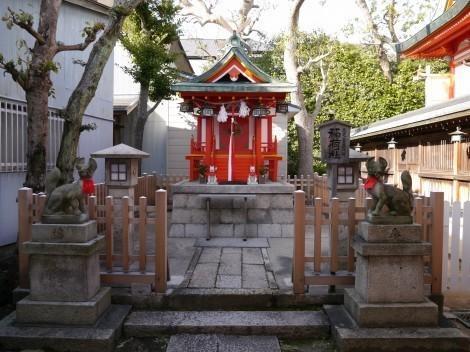 綱敷天満宮 稲荷神社